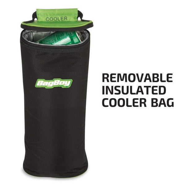 Bag Boy Chiller Cart Bag Black/Charcoal/Lime Chiller Cart Bag - Golf Country Online