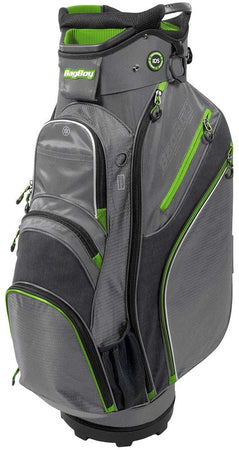 Bag Boy Chiller Golf Cart Bag, Charcoal/Lime/Black