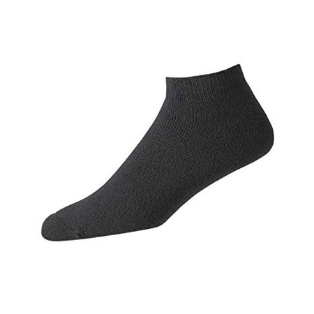 FootJoy ComfortSof Men's Sport Socks (1 Pair) Black 7-12 - Golf Country Online