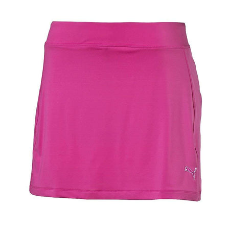 Puma Ladies Solid Knit Golf Skirt - Beetroot Purple - Apparel - Bottoms