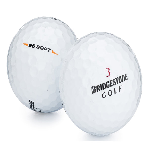 BRIDGESTONE e6 SOFT WHITE 3 BALL SLEEVE GOLF BALLS - RANDOM # - Golf Country Online