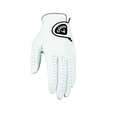 Callaway Mens Dawn Patrol Golf Glove - White - Golf Gloves