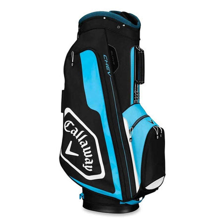 Callaway Golf 2019 Chev Cart Bag, Black/Blue/White - Golf Country Online