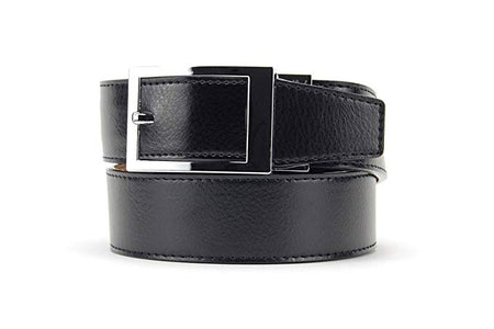 Nexbelt Mens Essential Classic Dress Belts - Ebony