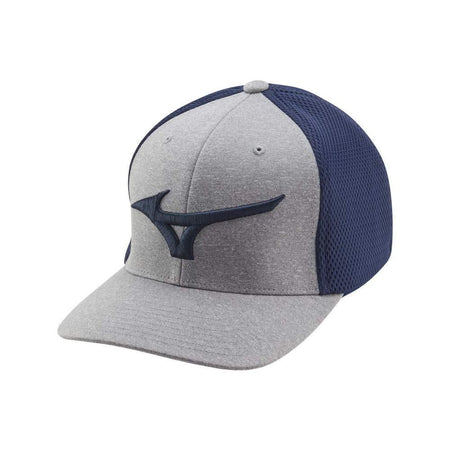 Mizuno Fitted Meshback Golf Hat Navy - Golf Hats