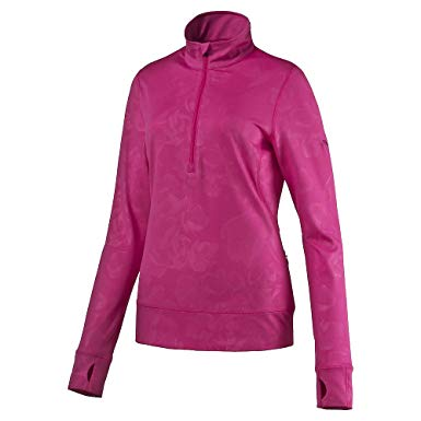 Puma Golf Women's Bloom 1/4 Zip Popover, Beetroot Purple