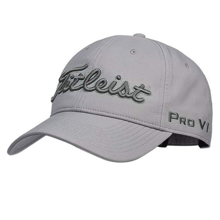 Titleist Golf- Tour Performance Cap Grey Collection - Golf Hats