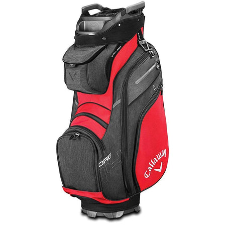 Callaway Golf 2019 Org 14 Cart Bag - RED/BLACK/TITANIUM - Golf Country Online