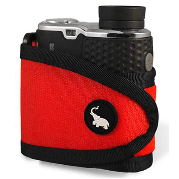 Monument Golf Stick It Magnetic Rangefinder Strap - Red - Gps Rangefinders And Accessories