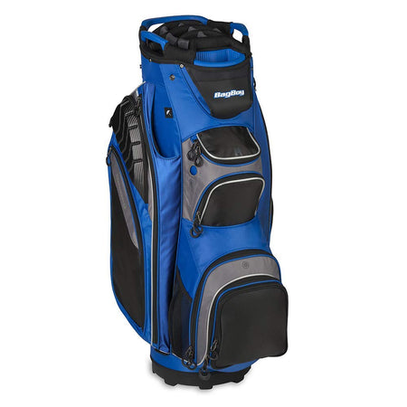 Bag Boy Golf Defender Golf Cart Bag (Cobalt/Black/Charcoal) - Golf Country Online
