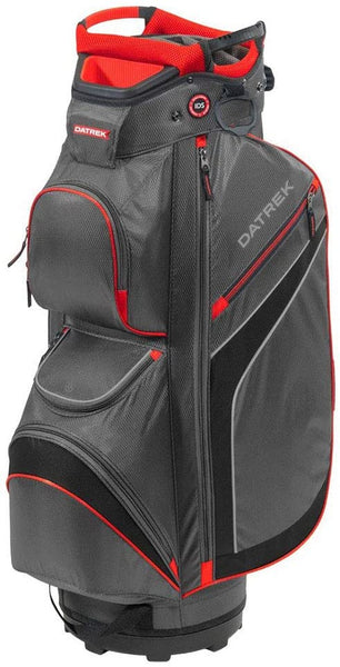 Datrek DG Lite II Cart Bag, Charcoal/Red/Black