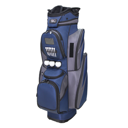 "RJ Sports CR-18 9.5"" Deluxe Cart Bag - Navy/Grey"