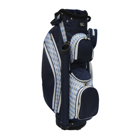 RJ Sports Ladies LB-960 Cart Bag - Argyle/Navy