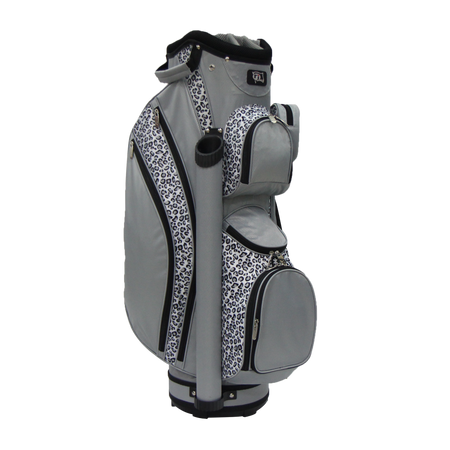 RJ Sports Ladies LB-960 Cart Bag - Leopard