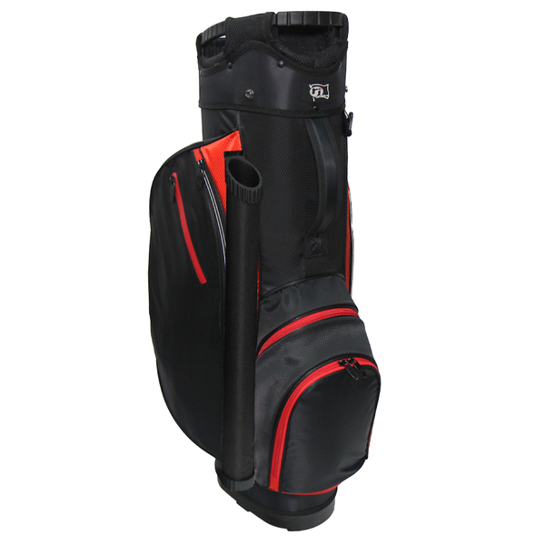 RJ Sports RX 6.0 Cart Bag 2019 (RED/BLACK) - Golf Country Online