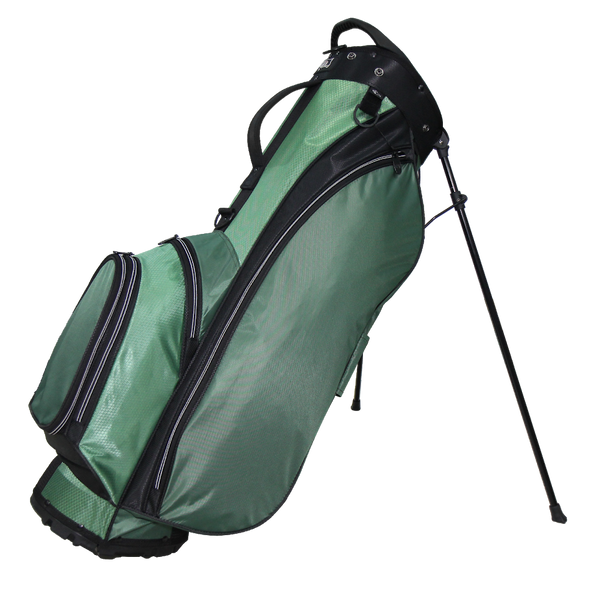 RJ SPORTS PLAYOFF STAND BAG (HUNTER/BLACK) - Golf Country Online