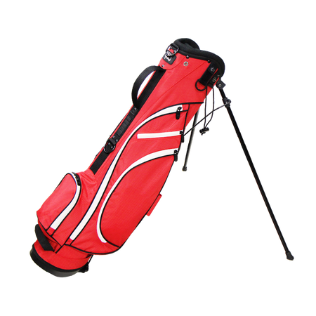 RJ SPORTS TYPHOON II STAND BAG (RED/WHITE)