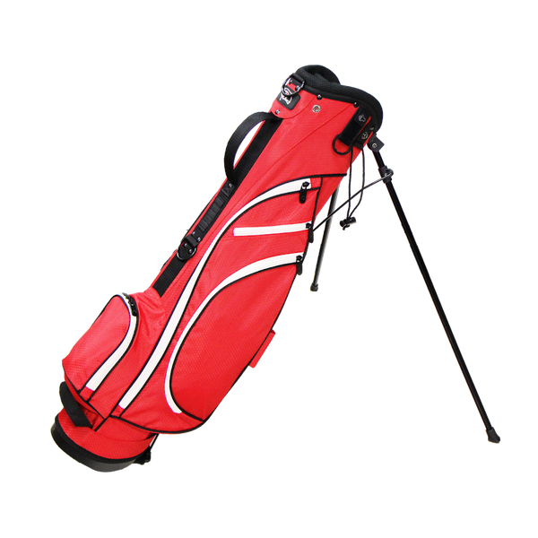 RJ SPORTS TYPHOON II STAND BAG (RED/WHITE) - Golf Country Online