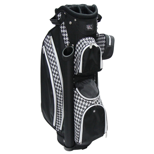 RJ Sports Womens Paradise Collection Deluxe Cart Bag - (HOUNDSTOOTH) - Golf Country Online
