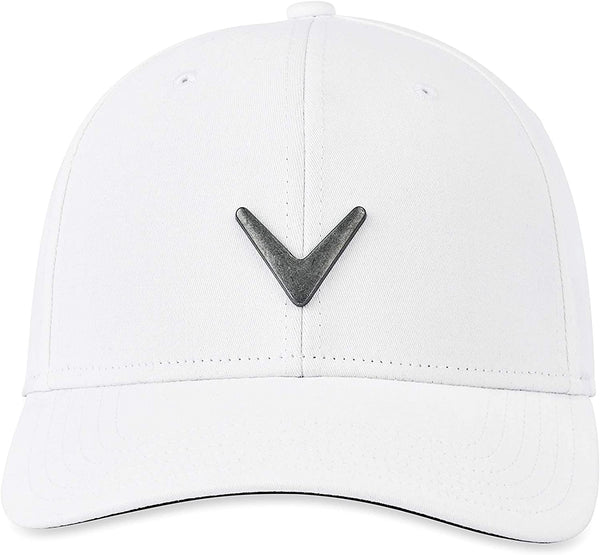 Callaway Golf Metal Icon Hat, White - Golf Country Online