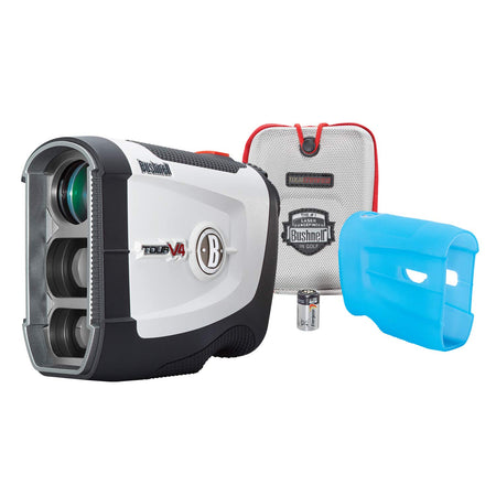 Bushnell Tour V4 JOLT Golf Laser Rangefinder, Patriot Pack Version, Protective Skin included - Golf Country Online