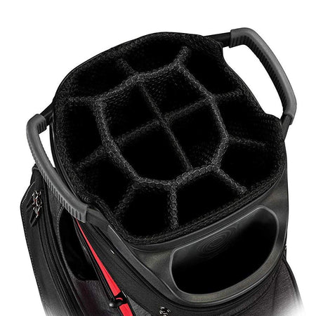 Callaway Golf 2019 Org 14 Cart Bag - RED/BLACK/TITANIUM