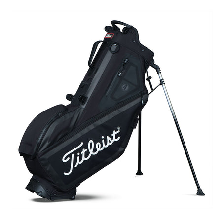 Titleist Golf Players 4 Stand Bag  - BLACK