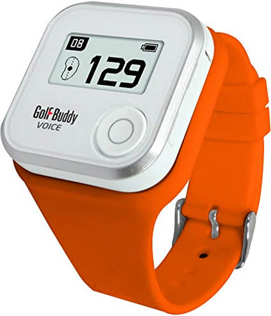 Golf Buddy Voice 2 Wristband - ORANGE - Golf Country Online