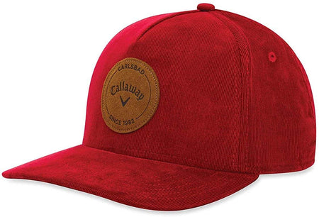 Callaway Golf Corduroy Hat/Cap, Red - Golf Country Online