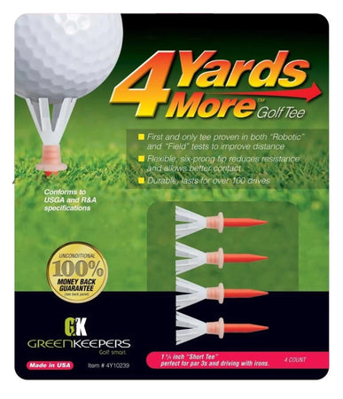 "4 Yards More Golf Tees - 1 3/4"" - Golf Country Online"