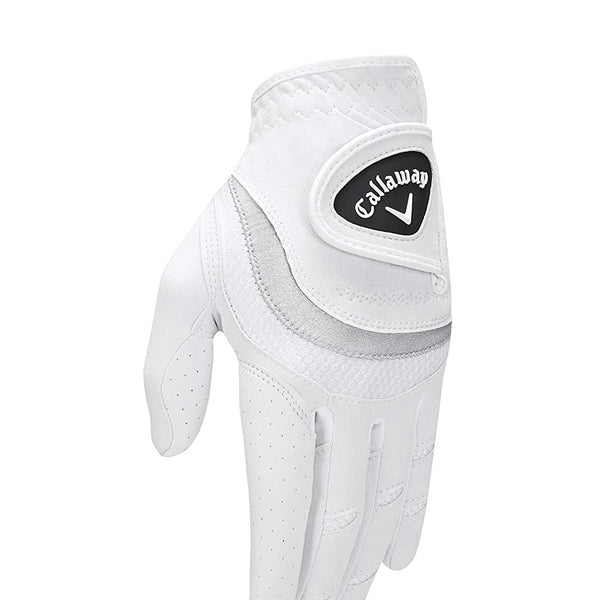 Callaway Golf Womens Uptown Glove Golf Glove 2017 Uptown Left  Large White - Golf Country Online