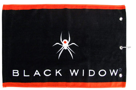 Softspikes Black Widow Multi-Use Golf Towel
