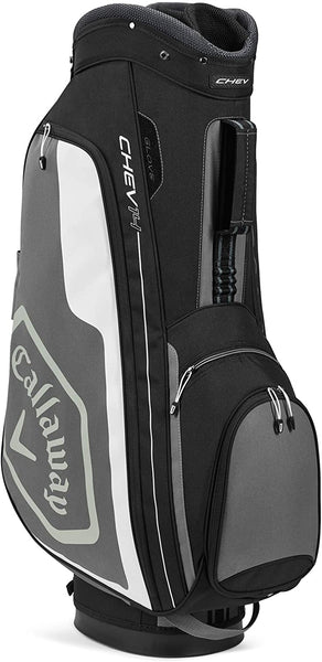 Callaway Golf 2020 Chev 14 Cart Bag - Black/Charcoal/White