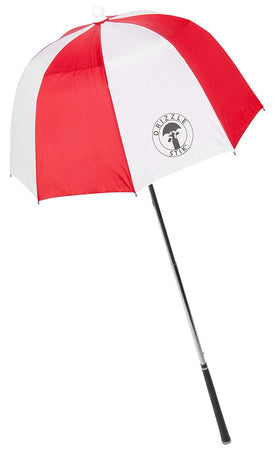 DrizzleStik Flex- Golf Club Umbrella - RED - Golf Country Online