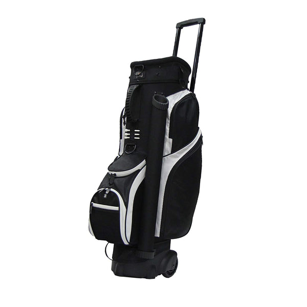 RJ Sports Spinner Transport Bag - Black/White (CLOSEOUT MODEL) - Golf Country Online