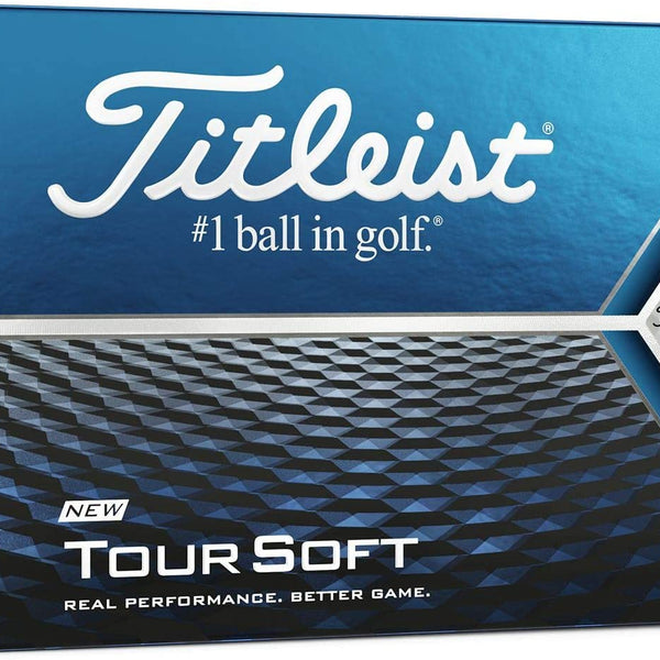Titleist Tour Soft Golf Balls (One Dozen - WHITE) - Golf Country Online