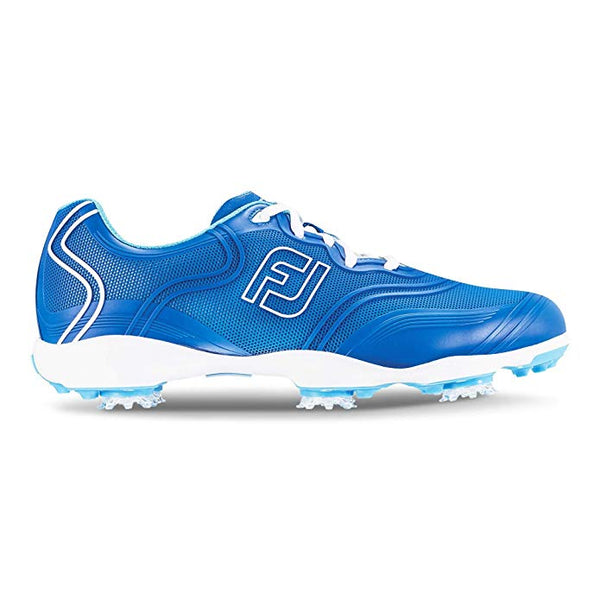 FootJoy Women's Fjaspire FlexGrid Style Golf Shoes Blue (#98804) - Golf Country Online