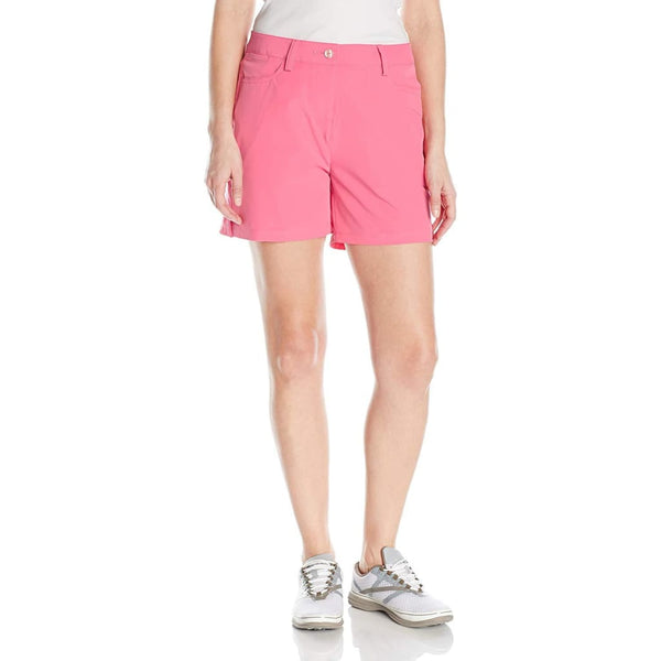 Puma Golf Womens Solid Short 5 - Shocking Pink - Apparel - Bottoms