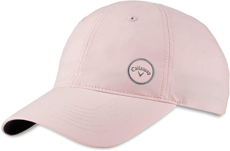 Callaway Golf 2021 Ladies High Tail Adjustable Hat - Mauve/Charcoal