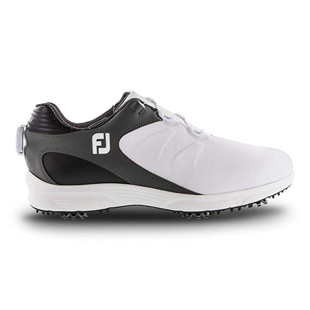 FootJoy Men's Arc Xt Boa Golf Shoes White/Black (#59744)(DISCONTINUED STYLE) - Golf Country Online