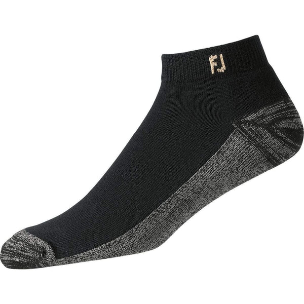 FootJoy ProDry Men's Sport Socks XL - Black (12-15) - Golf Country Online