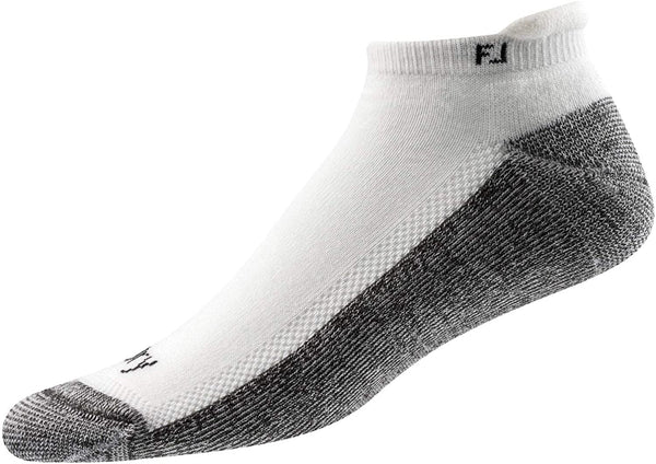 FootJoy Mens ProDry Roll Tab Socks  - White