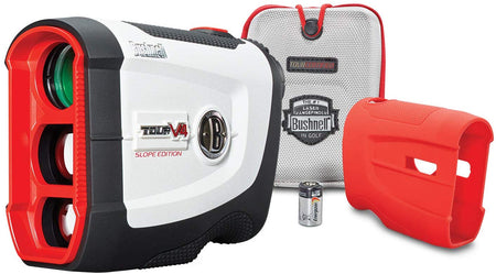 Bushnell Tour V4 Shift (Slope) Golf Laser Rangefinder, Patriot Pack Version, Includes Protective Skin - Golf Country Online