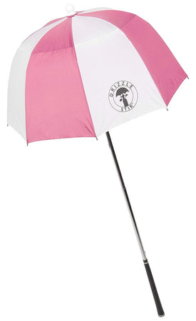 DrizzleStik Flex- Golf Club Umbrella - PINK - Golf Country Online