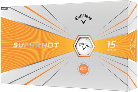 Callaway Golf 2020 SuperHot Bold Matte Golf Balls (white) (15 Ball Pack) - Golf Country Online
