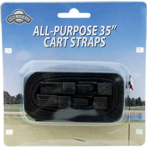 On Course Golf Cart Straps with Easy Release Buckle