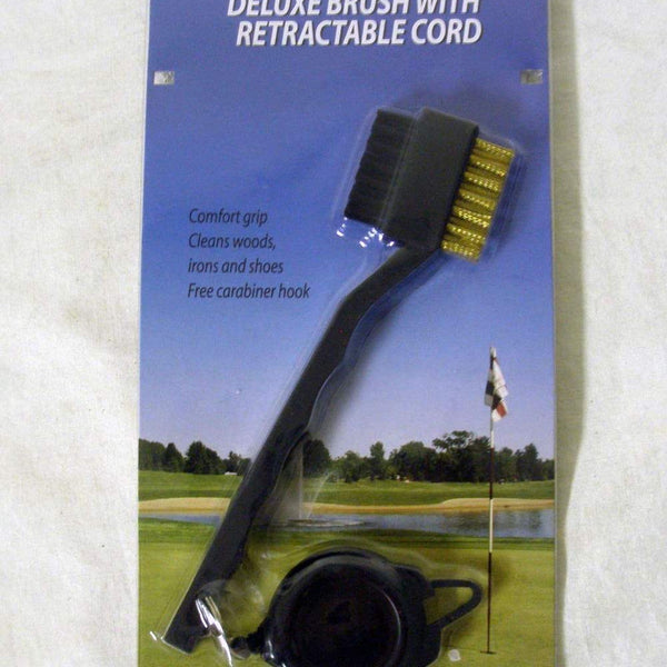 OnCourse Deluxe Brush with Retractable Cord