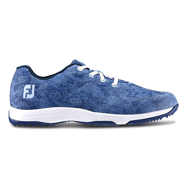 FootJoy Women's Leisure Style Golf Shoes Blue (#92905) - Golf Country Online