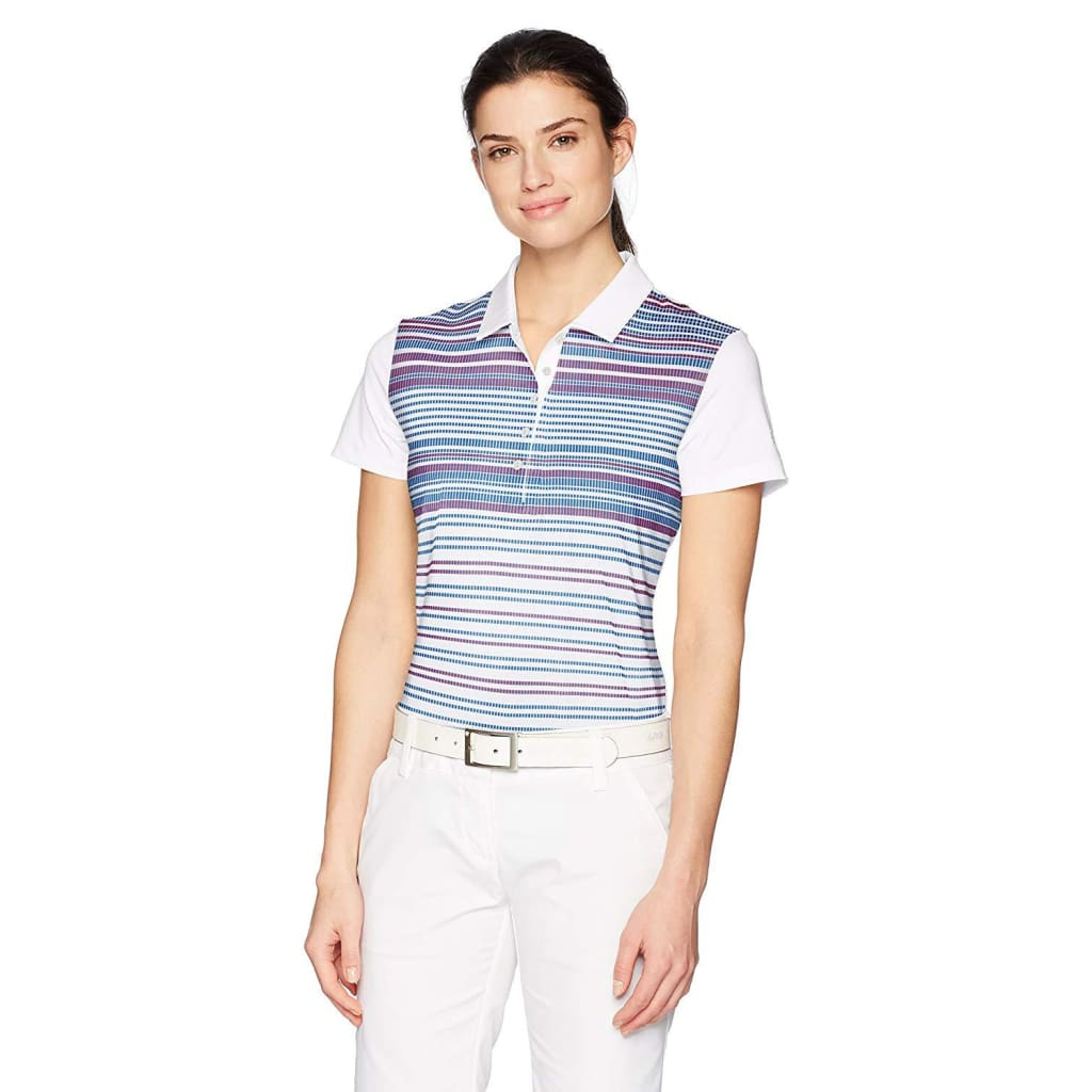 PUMA Golf Womens Women s Road Map Polo – Golf Country Online 40c0ca1800