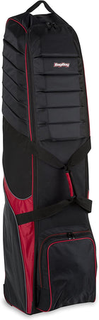 Bag Boy T-750 Wheeled Travel Golf Cover - Black/Red